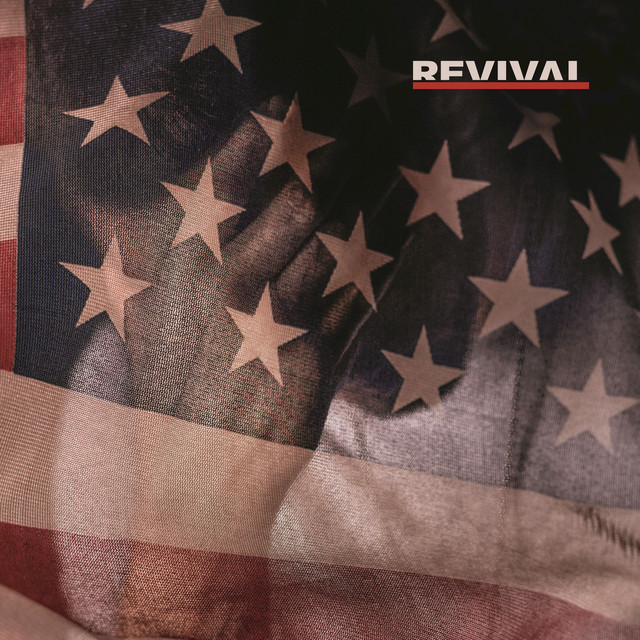 Album cover for Revival by Eminem