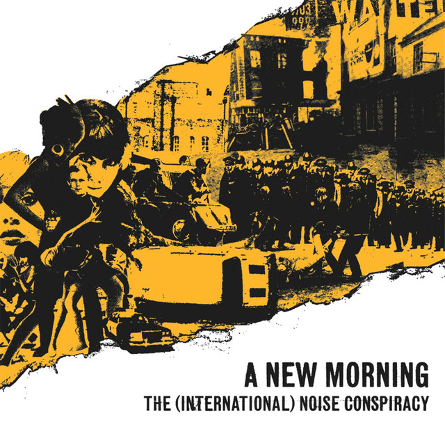 Skivomslag för (International) Noise Conspiracy: A New Morning, Changing Weather