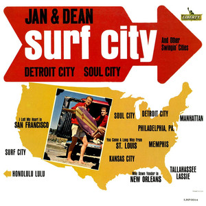 Surf City and Other Swingin' Cities album