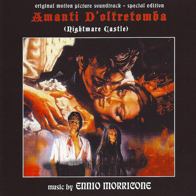 Amanti d'oltretomba - Nightmare Castle (Original Motion Picture Soundtrack) [Remastered] Albumcover