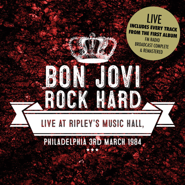 Rock Hard - Live at Ripleys, Philadelphia. 3rd March 1984 (Remastered) [Live] Albumcover