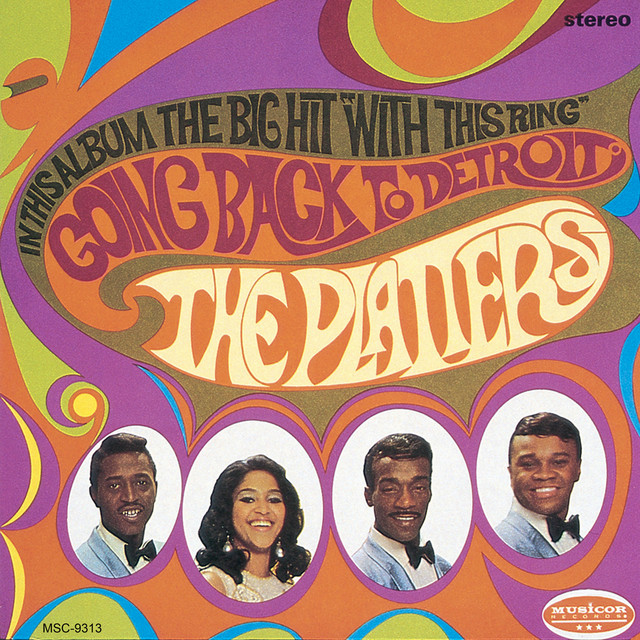 The Platters Going Back To Detroit album cover