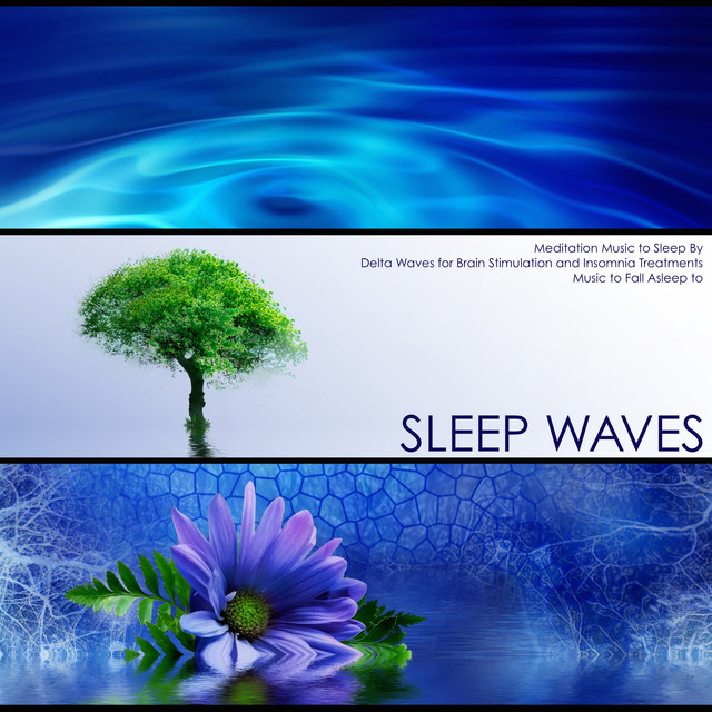 Sleep Waves - Meditation Music to Sleep By, Delta Waves for Brain