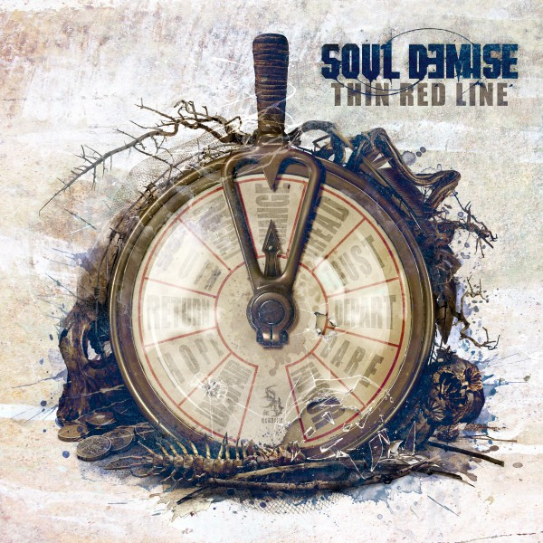 Album cover for Thin Red Line by Soul Demise