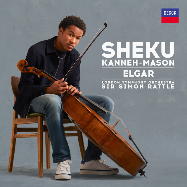 Album cover for Elgar by Sheku Kanneh-Mason, London Symphony Orchestra, Sir Simon Rattle