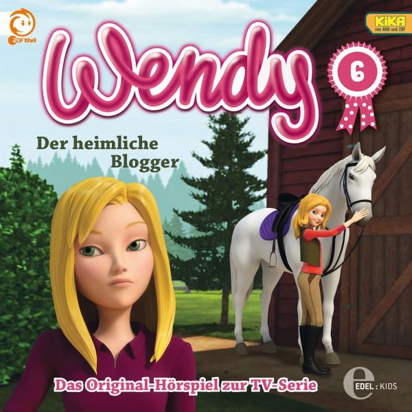 Folge 6: Der heimliche Blogger  -  Die lästige Cousine (Das Original-Hörspiel zur TV-Serie) Cover