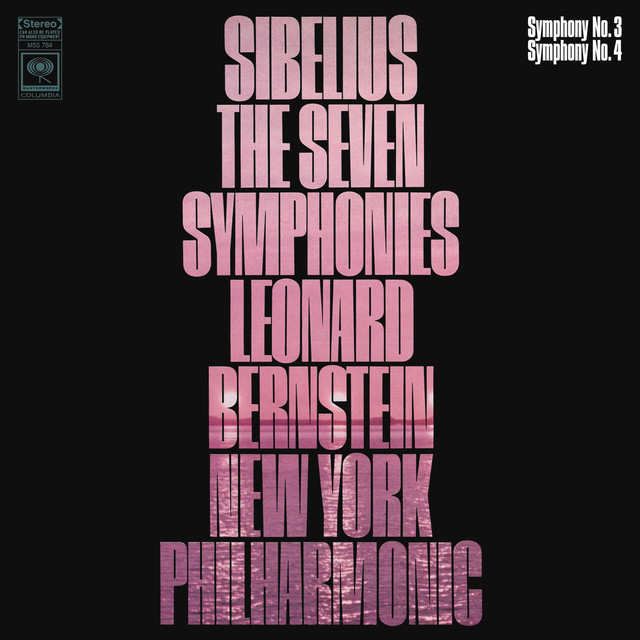 Sibelius: Symphony No. 3 in C Major, Op. 52 & Symphony No. 4 in A Minor, Op. 63 Albumcover