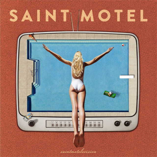 Album cover for saintmotelevision by Saint Motel