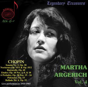 Martha Argerich Live, Vol. 4 Albümü