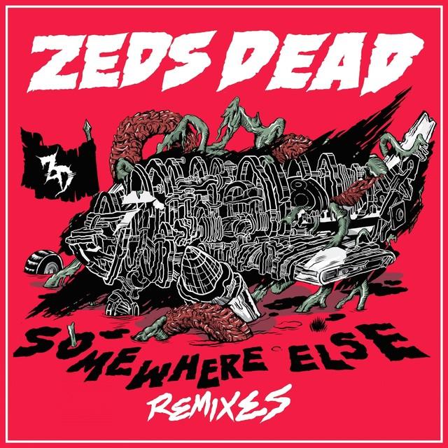 Somewhere Else (Remixes) Albumcover