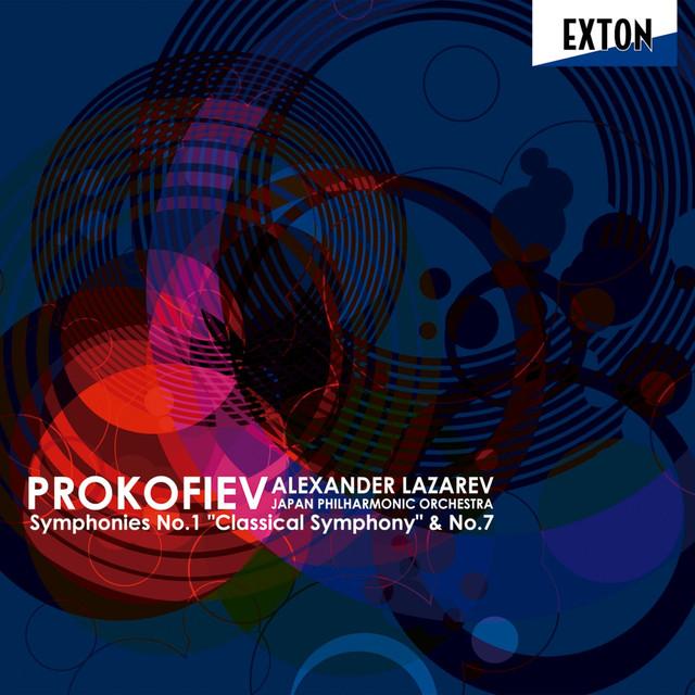 Prokofiev: Symphonies No. 1 Classical Symphony & No. 7 Albumcover
