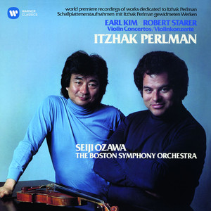 Kim & Starer: Violin Concertos Albumcover