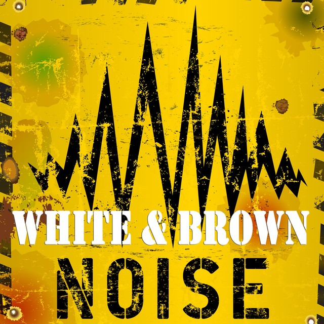 White & Brown Noise Relaxation Albumcover