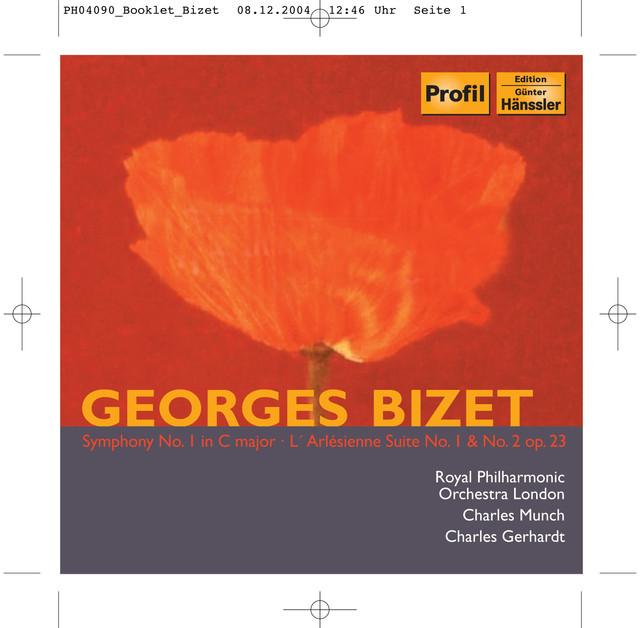 Bizet: Symphony No. 1 / L'Arlesienne Suites Nos. 1 and 2