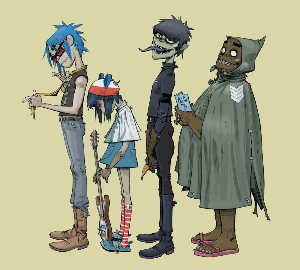 Gorillaz tickets and 2018  tour dates