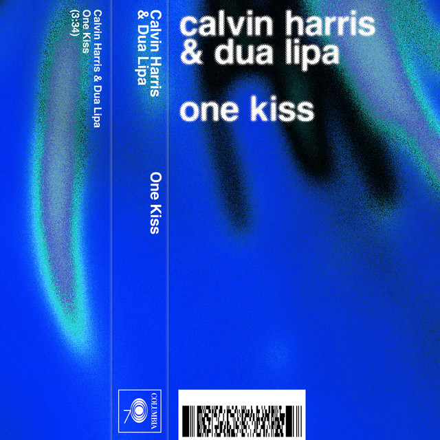 Album cover for One Kiss (with Dua Lipa) by Calvin Harris, Dua Lipa