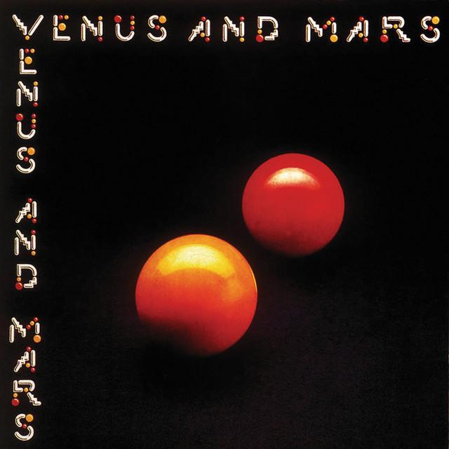 Wings Venus and Mars album cover