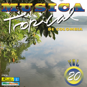 Música Tropical de Colombia, Vol. 20 Albumcover