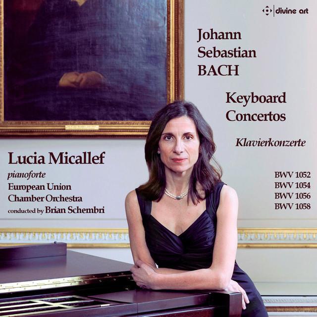 J.S. Bach: Keyboard Concertos Albumcover