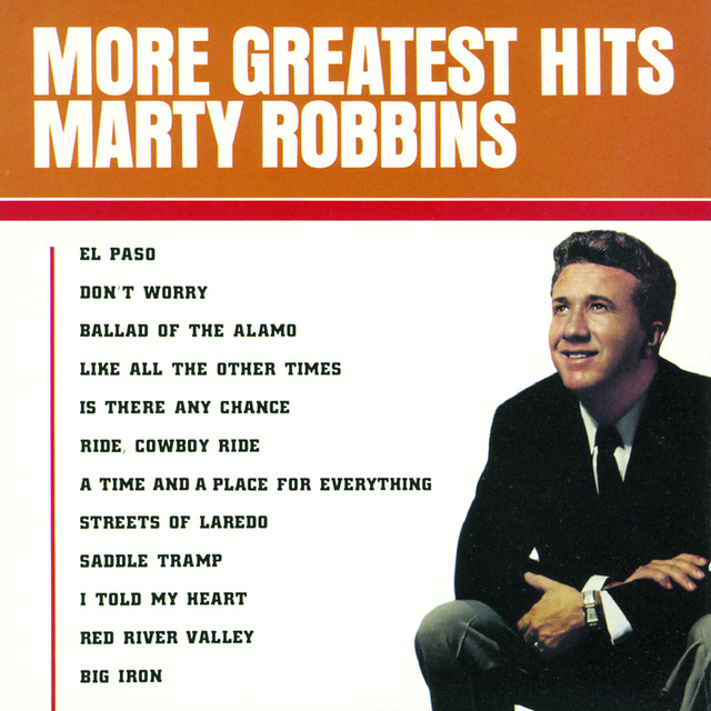 Marty Robbins More Greatest Hits album cover