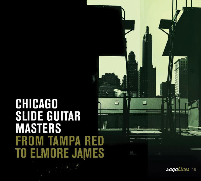 Various Artists Saga Blues: Chicago Slide Guitar Masters