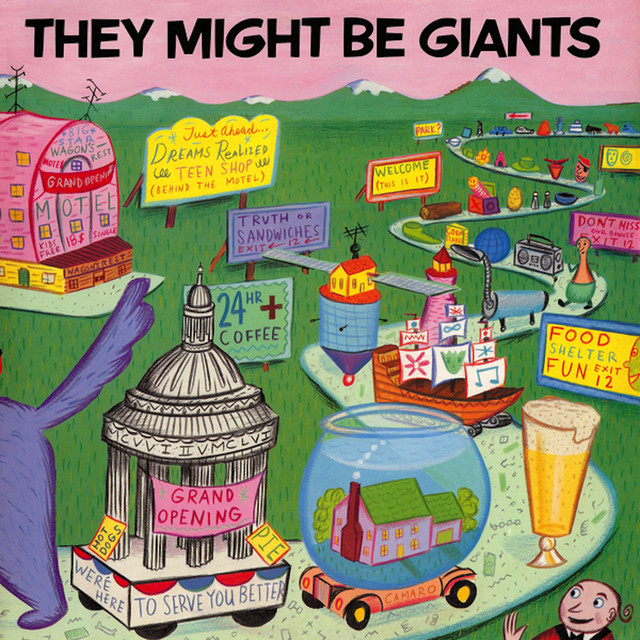 They Might Be Giants They Might Be Giants album cover