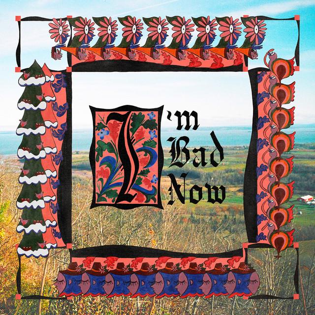 Skivomslag för Nap Eyes: I'm Bad Now