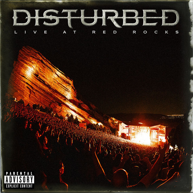 Album cover for Disturbed - Live at Red Rocks by Disturbed