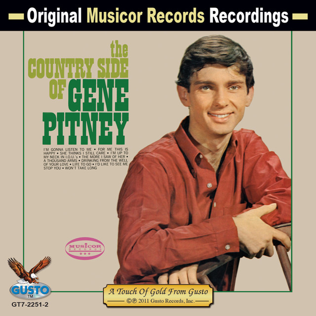 Gene Pitney The Country Side Of Gene Pitney album cover