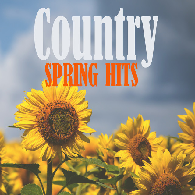 Album cover for Country Spring Hits by Various Artists
