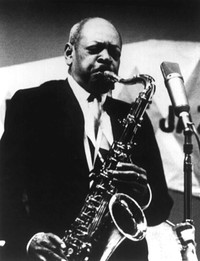 Coleman Hawkins, Cozy Cole On the Sunny Side of the Street cover