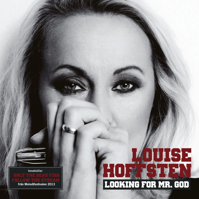 Skivomslag för Louise Hoffsten: Looking For Mr. God