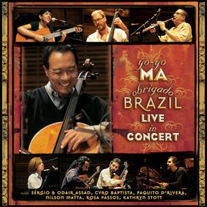 Obrigado Brazil - Live In Concert Albumcover