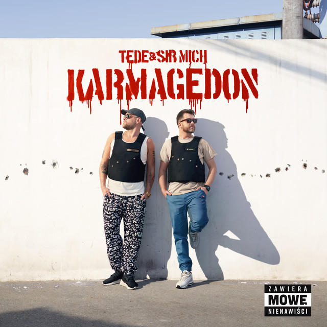 Album cover for KARMAGEDON by TEDE, Sir Mich