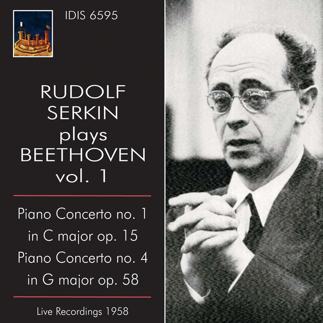 Rudolf Serkin Plays Beethoven, Vol. 1 (1958) Albumcover