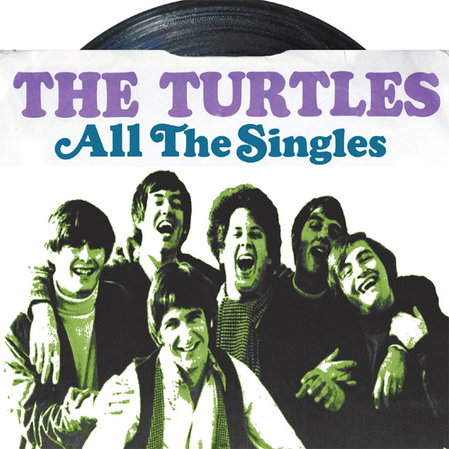 The Turtles All the Singles album cover