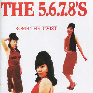 Album cover for All the 50's hits by The 5.6.7.8's