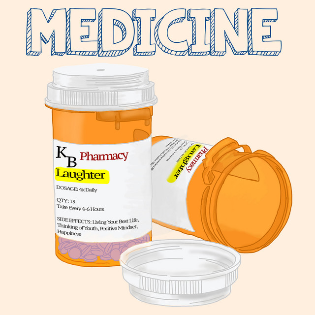 Album cover for Medicine by King Bach