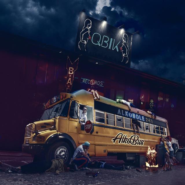 Album cover for Alkobus by Qbik