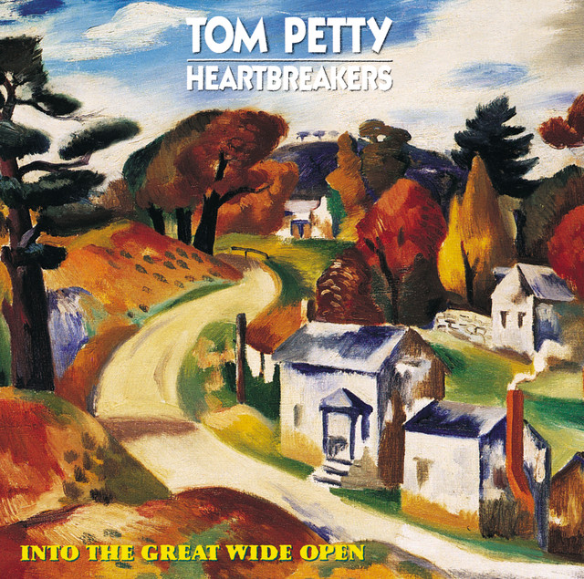 Tom Petty Into The Great Wide Open album cover