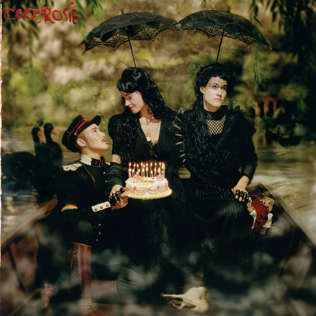 Album cover for The Adventures of Ghosthorse & Stillborn by CocoRosie