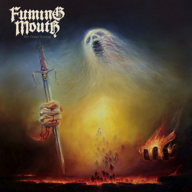 Album cover for The Grand Descent by Fuming Mouth