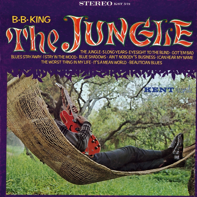 B.B. King The Jungle album cover