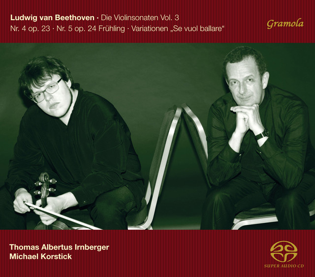 Beethoven: The Violin Sonatas, Vol. 3 Albumcover