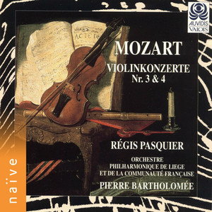 Mozart: Violin Concertos Nos. 3 & 4 Albümü