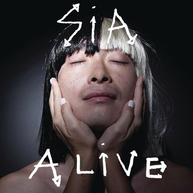 Skivomslag för Sia: Alive