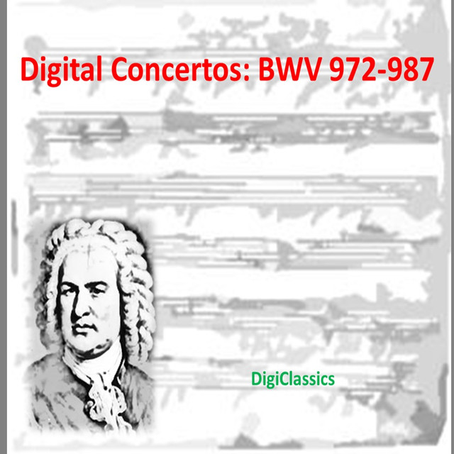 Bach: Concertos, BWV 972-987 Albumcover