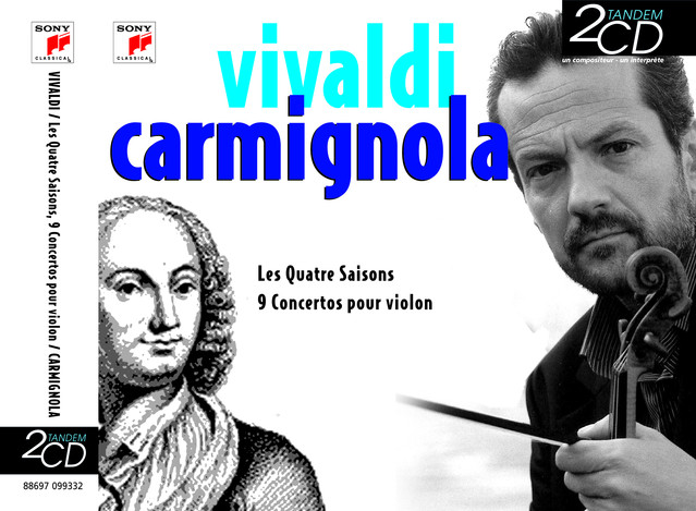 Vivaldi/Carmignola Albumcover