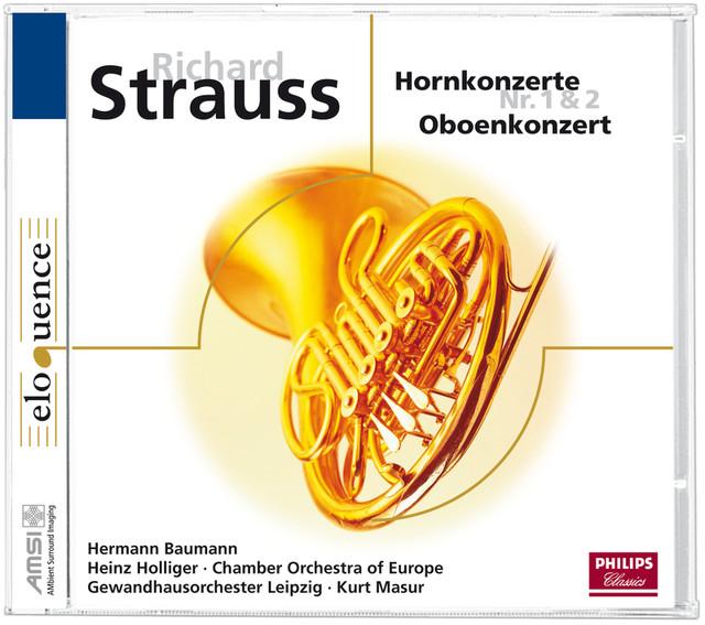 R. Strauss: Obenkonzert & Hornkonzerte (Eloquence) Albumcover
