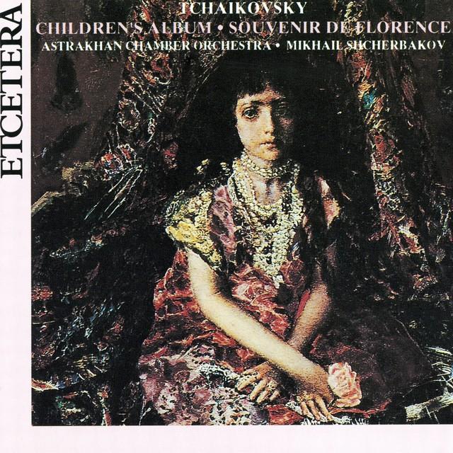 Pyotr Il'yich Tchaikovsky, Children's album Op. 39, Album pour les enfants, Souvenir de Florence Albumcover